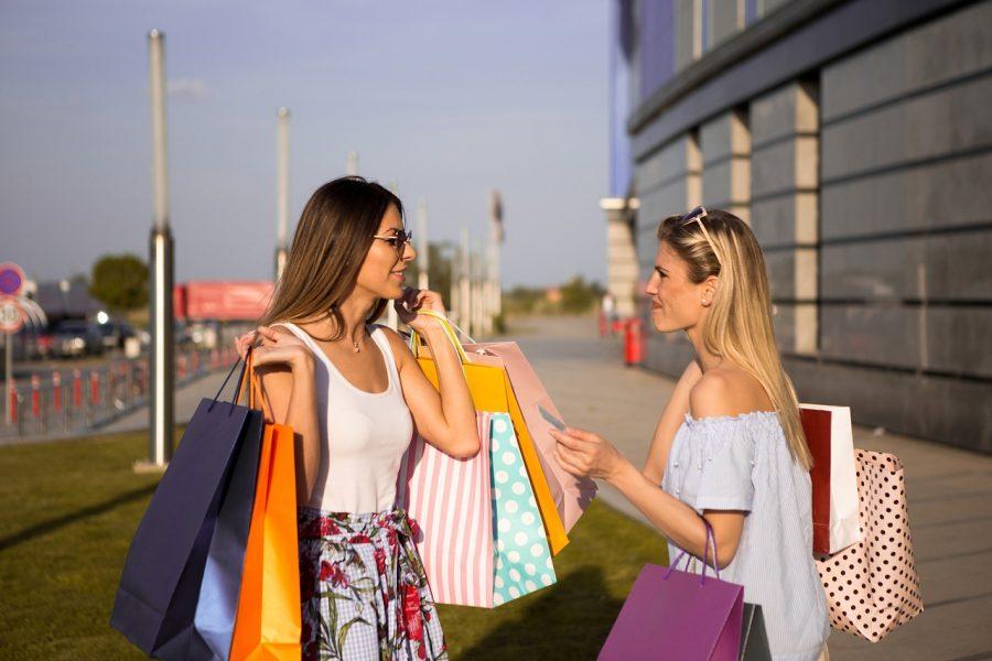 kredittkort og shopping